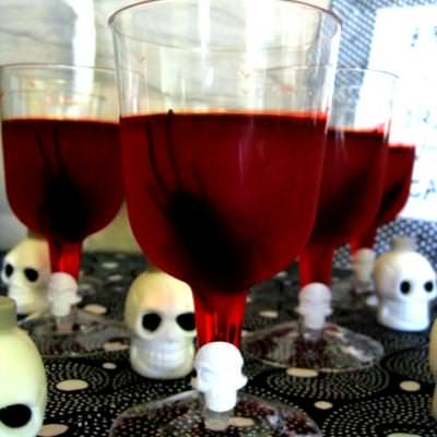 Bloody Spooky Drink{Jello Treat}