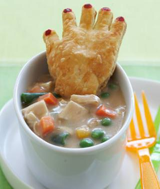 Chicken Potpie with Crawling Hands Recipe