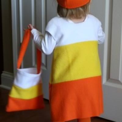 DIY Candy Corn Costume Homemade Halloween Costume Ideas & DIY Candy Corn Costume Homemade Halloween Costume Ideas | Tip Junkie