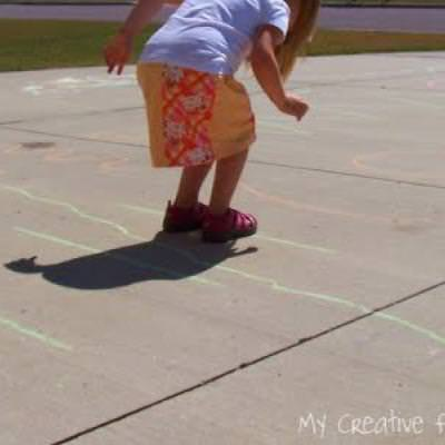 Driveway Obstacle Course
