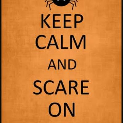 Halloween Keep Calm and Spook on Downloads