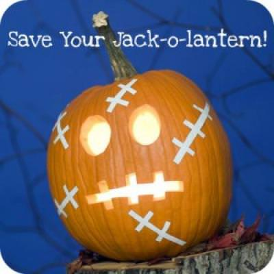How To Preserve Your Jack-o-Lantern {Pumpkin Carving}