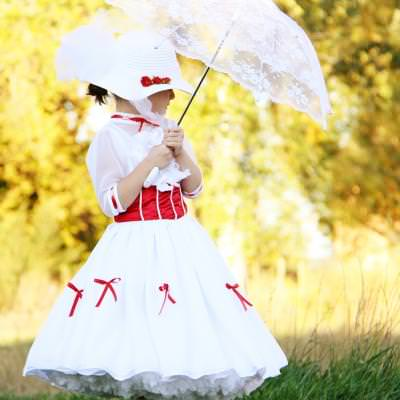 Mary Poppins Costume Pattern {Costume}