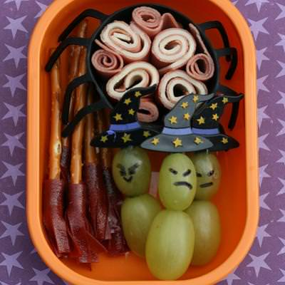 Three Witch Lunch {Halloween Meals}