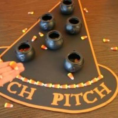 witch pitch games for halloween