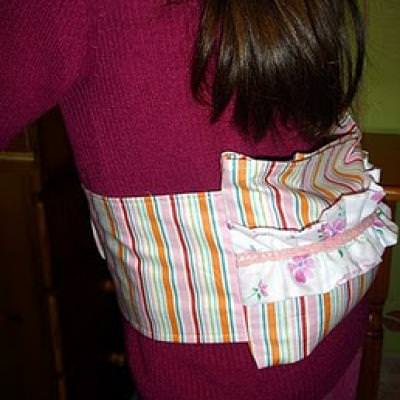 Aromatic Heat Pack Belt {Sewing Tutorial}