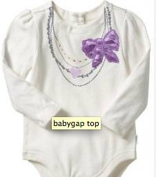 BabyGap Knockoff Necklace Onesie {Tutorial}