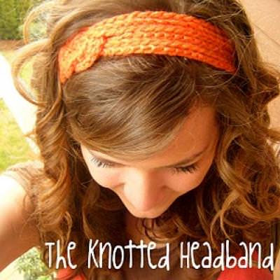 DIY Knotted Crochet Headband
