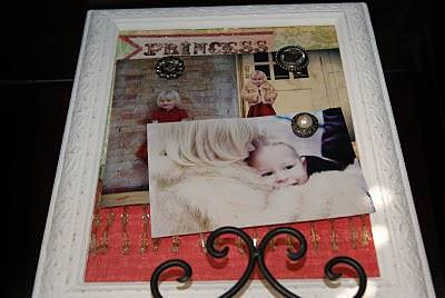 DIY Magnetic Picture Frame