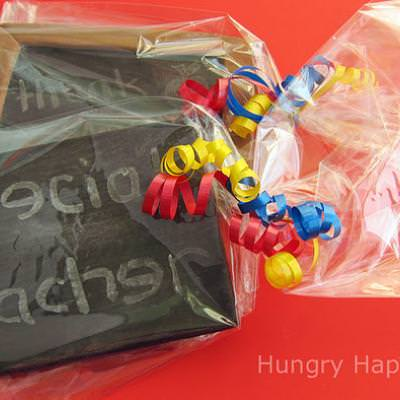 Edible Chalkboard {Teacher Gift}