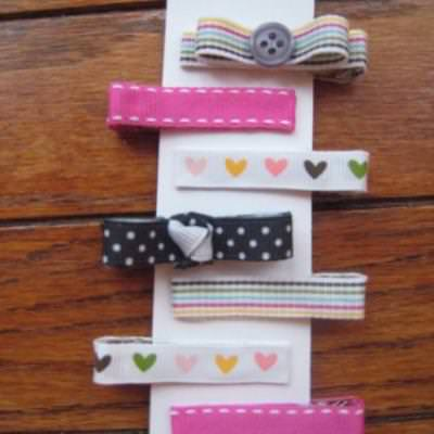 Handmade Barrettes {Gifts for Kids}