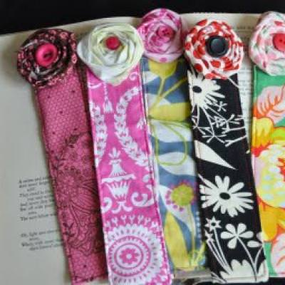 Handmade Bookmarks {Thank You Gift}