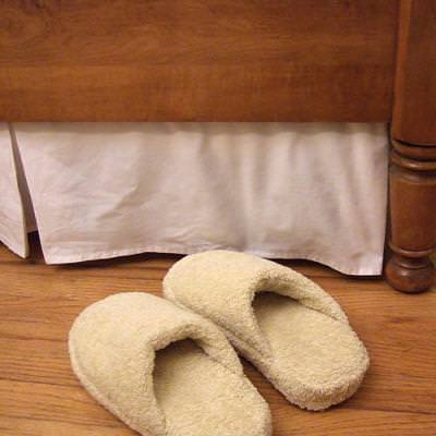 Homemade Spa Slippers {Free Pattern}