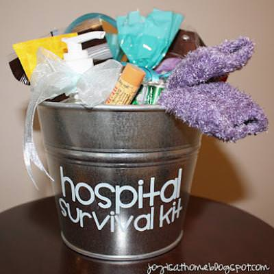 Hospital Survival Kit for Mom-To-Be