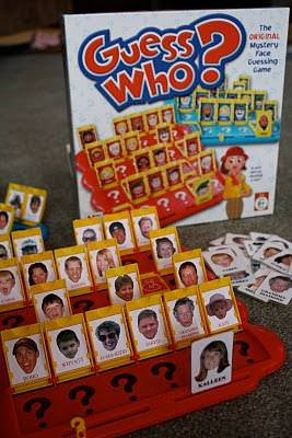 Make a Family 'Guess Who' Game {how-to}