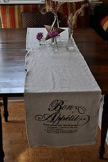 Muslin Table Runner Tutorial