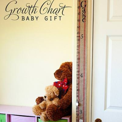 Portable Growth Chart {How-To}