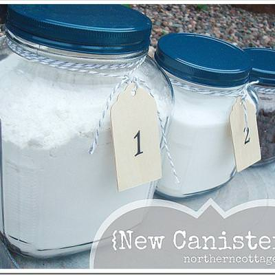 Pretty Custom Canisters!!