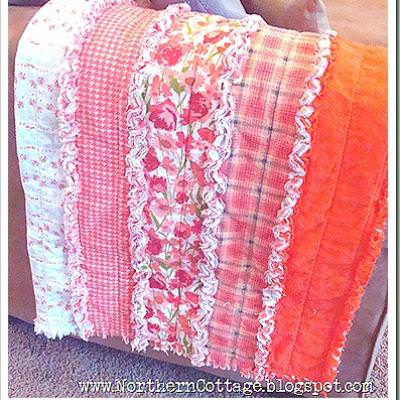Ruffle RAG Quilt How-To