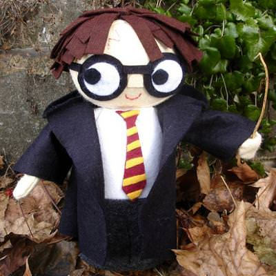 Stuffed Harry Potter Doll {Sewing Pattern}