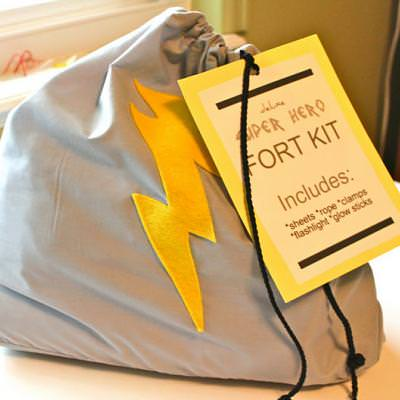 'Super Hero' Fort Kit {Kids Gifts}