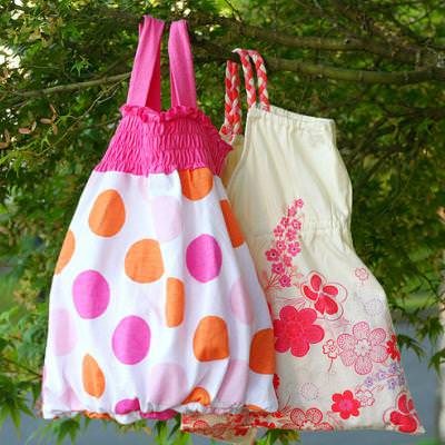 Tote Bag from Tank Top {Tutorial}