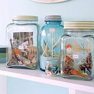Vacation Memory Jars {How-To}