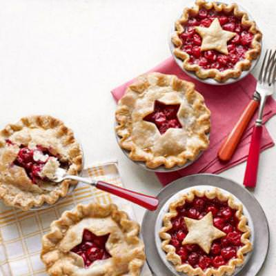 Mini Cherry Pies {Labor Day}