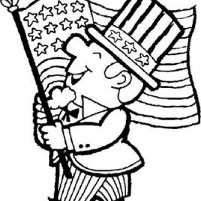 Uncle Sam Coloring Page Activities for Kids Tip Junkie