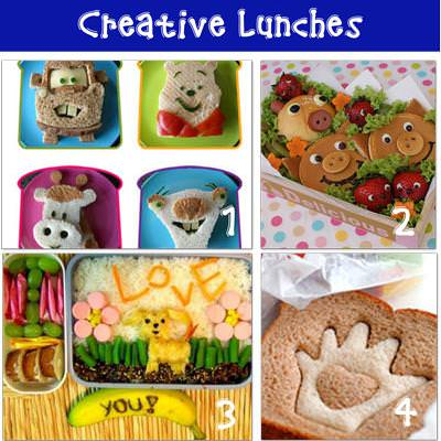 12 Creative School Lunches {Healthy Eating}