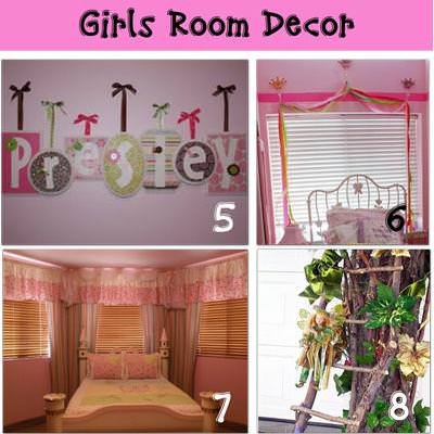 12 Dress Up a Room For Your Girl {Girls Room}