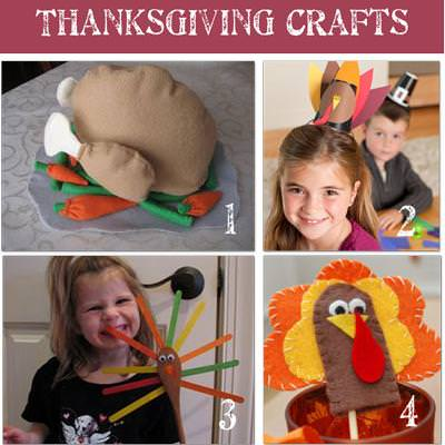 36 Thanksgiving Activities and Kids Crafts {Kids Activities}