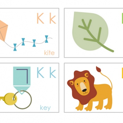 Alphabet Flashcards {Learning Letters}