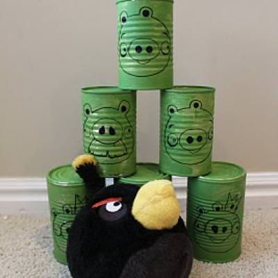 Angry Birds Can Game {Fun Games}