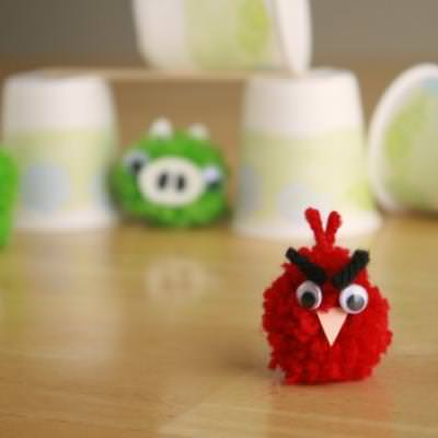 Crafting with Angry Birds {Family Fun Crafts}