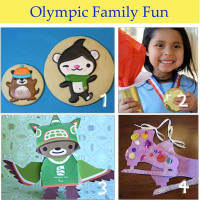 DIY Winter Olympic Crafts and Family Fun {Kids Activities}