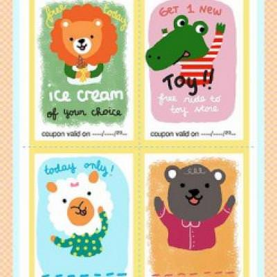 Kids Treat Coupons for Positive Reinforcement