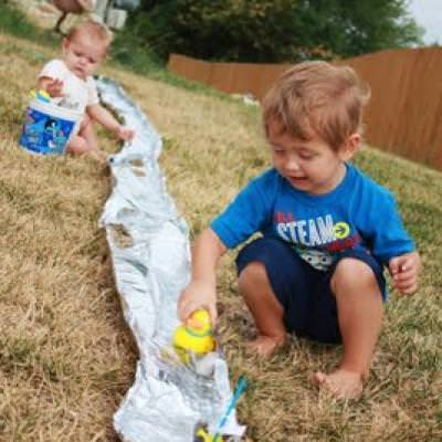 Outdoor Water Activity for Toddlers