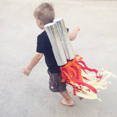 Rocket Man Costume {Cool Crafts}