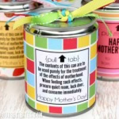 Tin Can Treats for Mother's Day {Family Crafts}