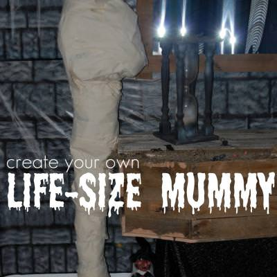 Create Your Own Life Size Mummy