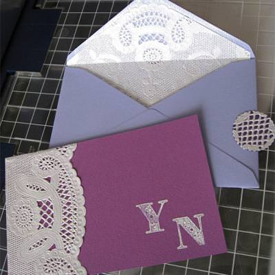 Doily Thank You Note {Thank You Note}