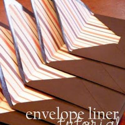Envelope Liner Tutorial {Envelope}