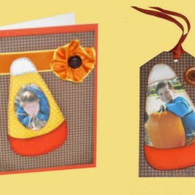 Free Candy Corn Paper Piecing Pattern Template For Cards Tip Junkie