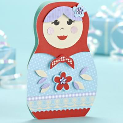 Free Printable Russian Doll Card {Templates For Cards}