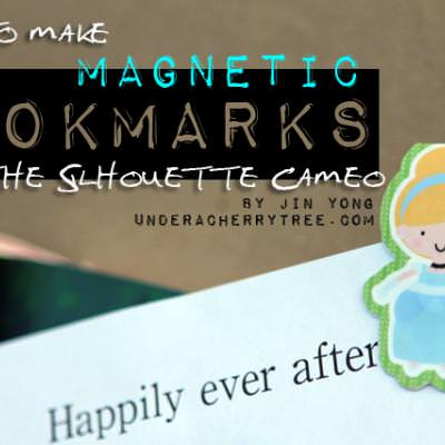 How to make Princess Magnetic Bookmarks with Silhouette Studio program.