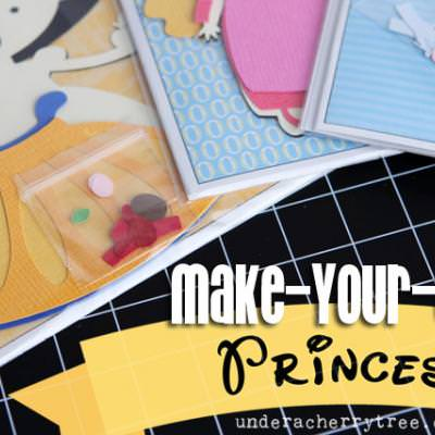 Make-Your-Own Princess Kits {Paper Craft}