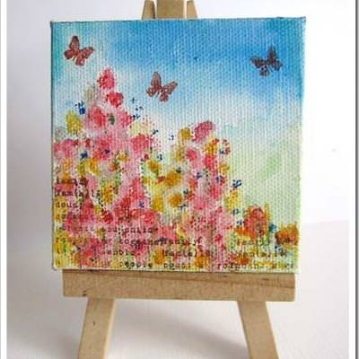 Mother's Day Painting & Gift Box {Paint a Picture}