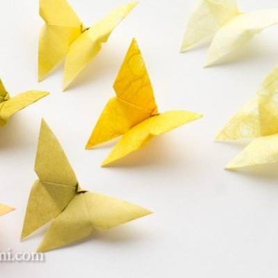 Origami Butterfly {Simple Origami}