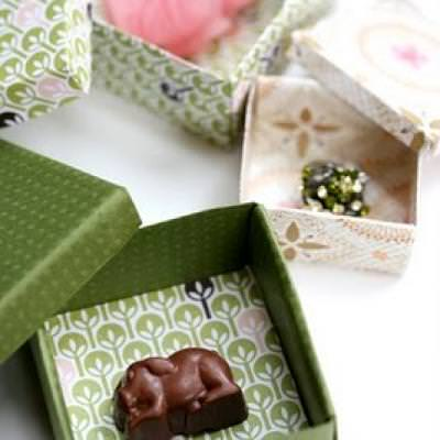Origami Paper Boxes {Simple Origami}